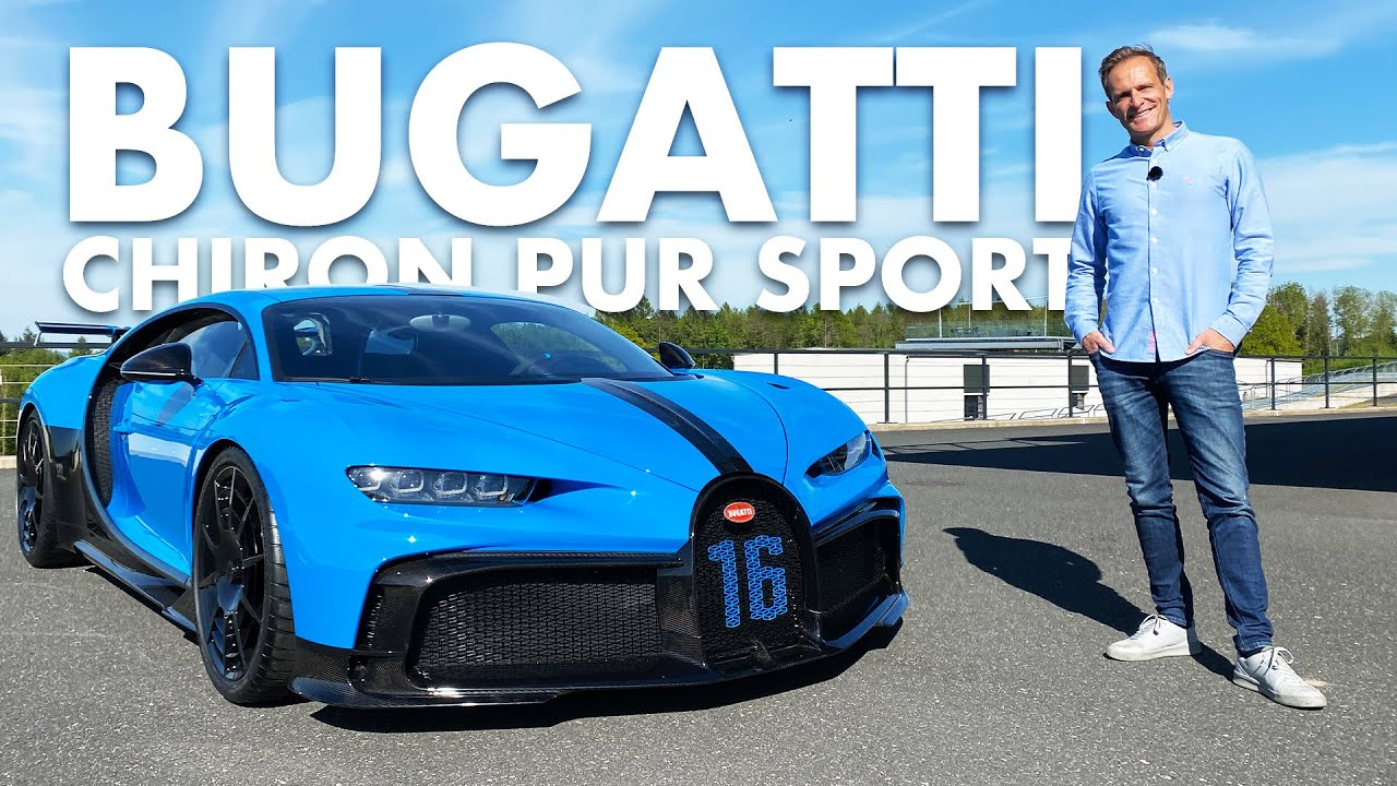 3.5 Mio € Bugatti Chiron Pur Sport | 1500 PS | On Track | Matthias Malmedie