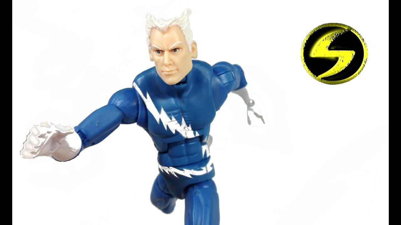 Marvel Legends Quicksilver Review - YouTube