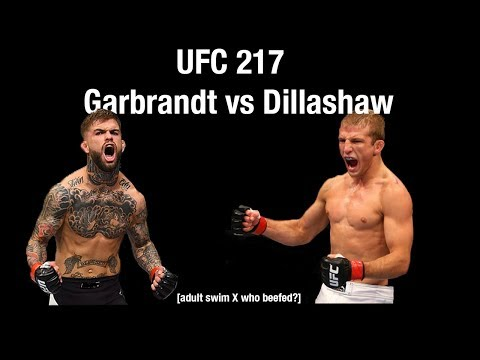 UFC 217 Adult Swim Promo - Garbrandt vs Dillashaw