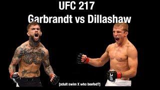 UFC 217 Adult Swim Promo - Garbrandt vs Dillashaw