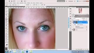 Tutorial Photoshop: Retocar la piel sin dañarla