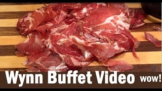 Wynn Buffet Dinner (& Lunch) Full Walkthrough:  I can't believe it! from top-buffet.com