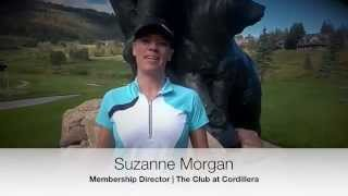 Suzanne Morgan, Welcome to The Club at Cordillera