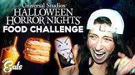 Ultimate Universal Halloween Horror Nights Food Challenge: Trying All Of The Frightful Treats