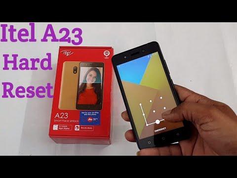 Itel A23 Hard Reset | pattern unlock without pc
