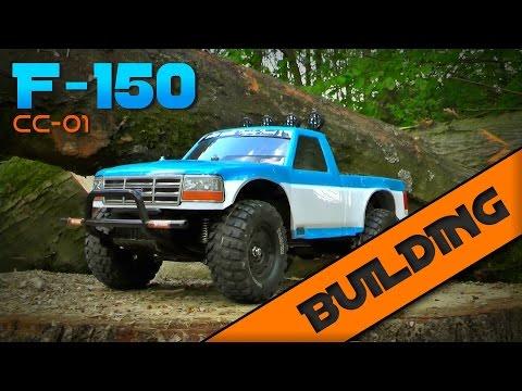 Tamiya Ford F-150 [CC-01]: BUILDING & stretching the wheelbase  | by RC Showdown