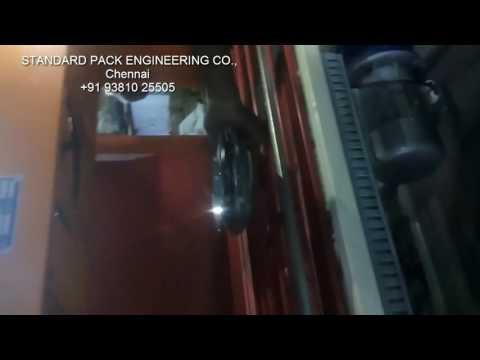 Shrink Wrapping Machine (Catering Kuzhi Paniyaram)-Standard Pack Engineering Co., Chennai 9381025505