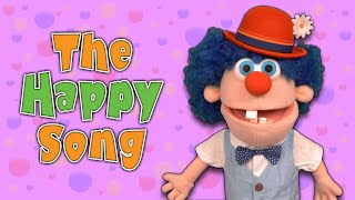 The Happy Song | Baby Big Mouth Nursery Rhymes & Kids Songs
