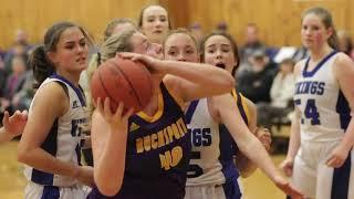 Bucksport at Searsport girls basketball