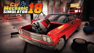 SAIU! Car Mechanic Simulator 18 para Celular - CONFERINDO O JOGO