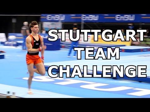 DTB Pokal Team Challenge World cup 2017 STUTTGART VLOG |  Road To The European Championships, part 6