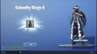 Winning a fortnite game with yolo jp and also getting dusk wings and stage 5 calamity