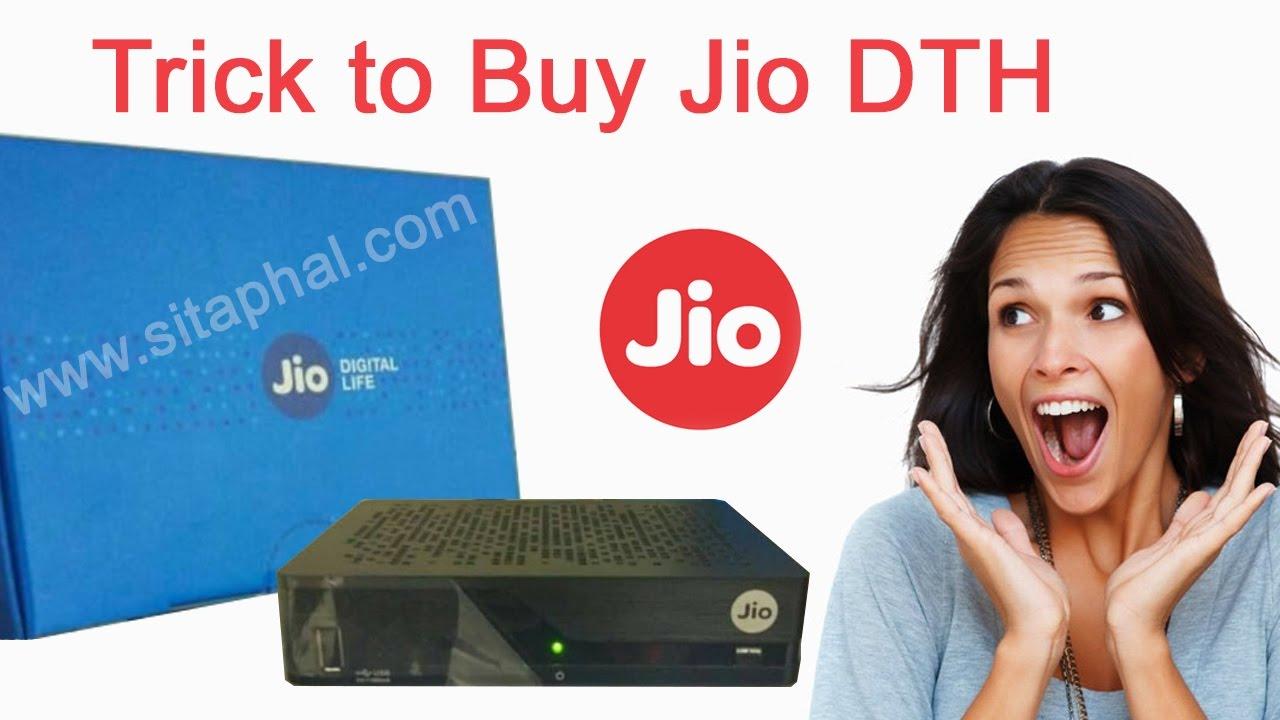 Jio DTH Set Top Box - Booking Online, Flipkart, Amazon (Sep