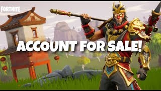 Fortnite - Account For Sale ( Has Skull Trooper ) 20+ Skins