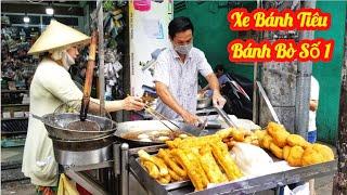 Bái phục ông vua làm bánh tiêu bánh bò nhanh như cắt ở Sài Gòn | Saigon Travel