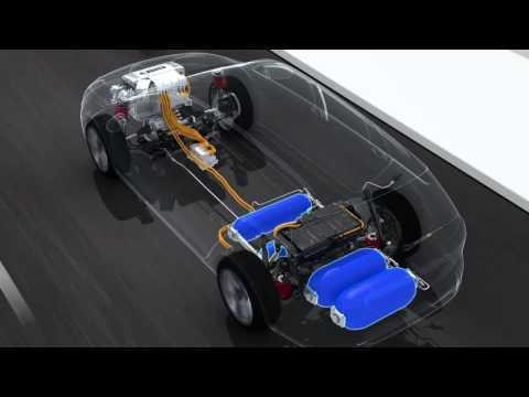Volkswagen HyMotion Hydrogen Powertrain Technology