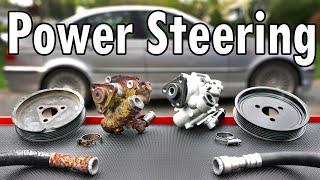 homepage tile video photo for How to Replace a Power Steering Pump