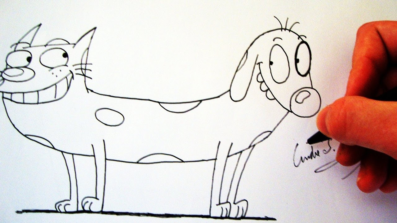 Como Desenhar O CatDog