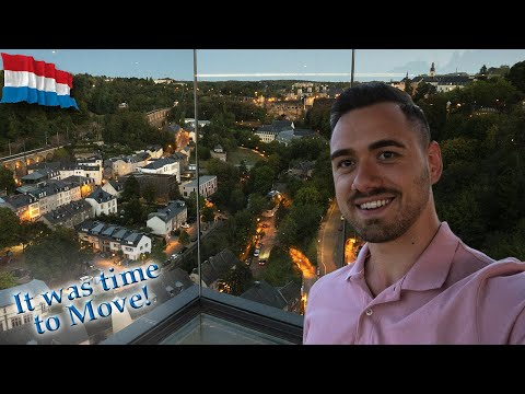 It was time to make a BIG change! I moved to Luxembourg!