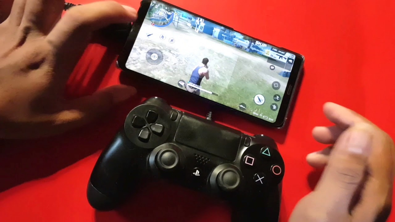 how to play mobile legend with ps4 controller