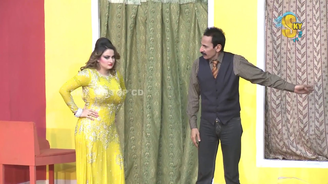 Iftikhar Thakur and Nasir Chinyoti Pakistani Stage Drama Comedy Clip 2018 | Pk Mast