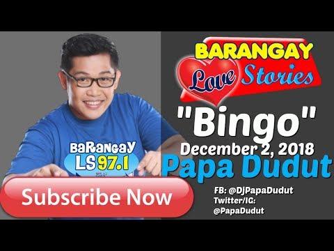 Barangay Love Stories December 2, 2018 Bingo