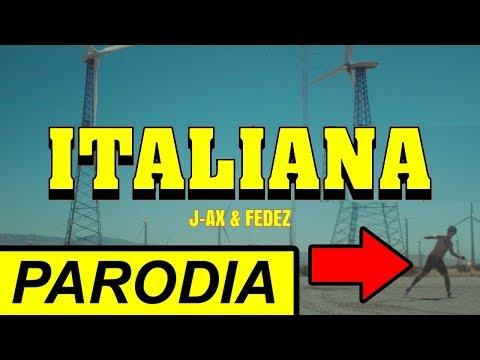 J-AX & Fedez - Italiana (PARODIA) - Manuel Aski