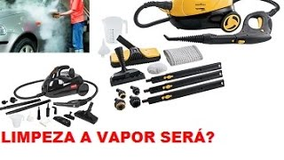 Maquina de limpeza a vapor funciona? Teste veja o funcionamento Wap intech vaporclean kaercher