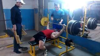 Жим лёжа с бруска 195kg на 4 раза | 79,8kg