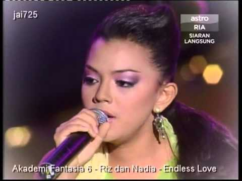 Akademi Fantasia 6 - Riz dan Nadia - Endless Love