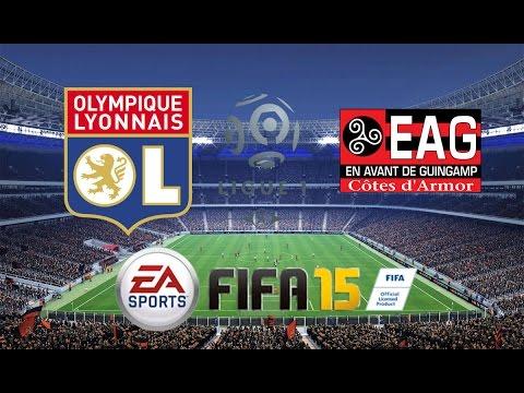 13èmè journée championnat {} FIFA 15 OL - Guingamp