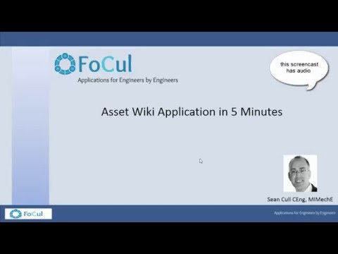 Asset Wiki application in 5 minutes