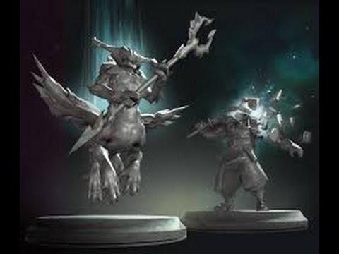 видео: dota 2 : создание статуи славы !