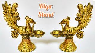 Diwali Diya Decoration Ideas For Home   Best Out Of Waste Diya Making   Brass Diya Making   Punekar