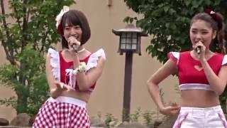 龍王祭昼の部、鬼怒川温泉駅前ステージのライブです。