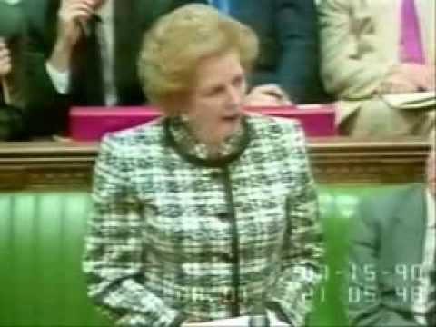 Thatcher Vs Kinnock on Nicholas Ridley