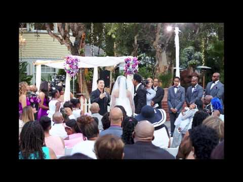 Deitrick and Dominique Haddon Wedding Slideshow