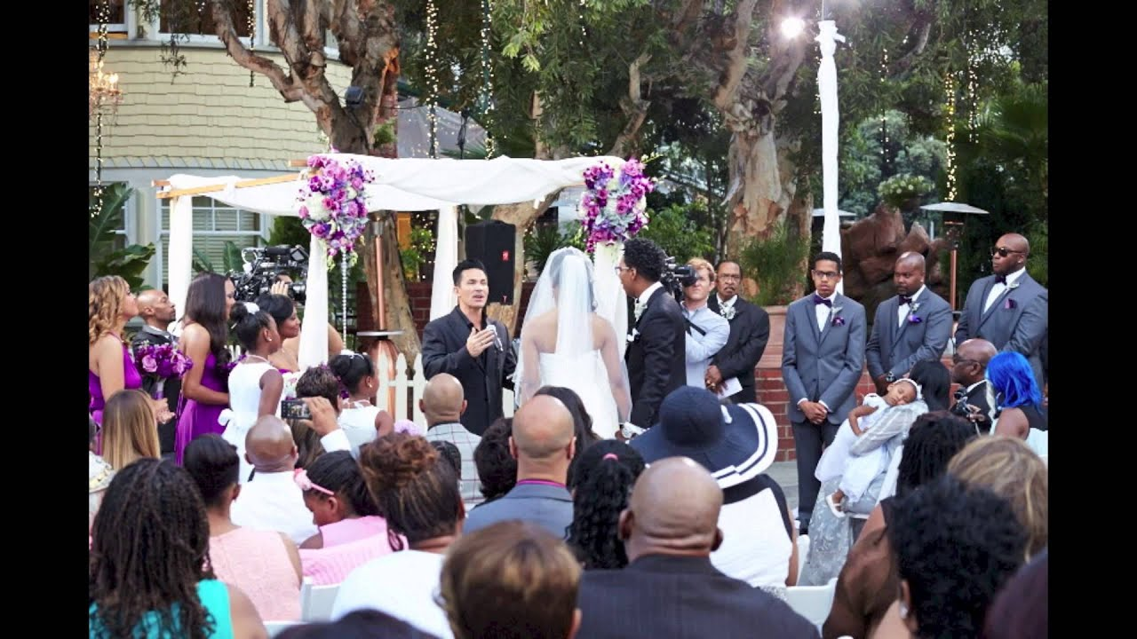 Deitrick and Dominique Haddon Wedding Slideshow YouTube
