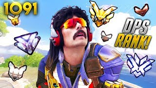 He WASN'T EXPECTING THIS RANK!!   Overwatch Daily Moments Ep.1091 (Funny and Random Moments)
