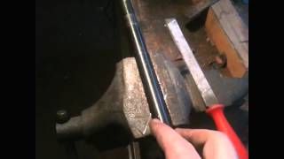 Building a flintlock pistol from scratch- Part 3 Rifling removed, now working on octagon flats
