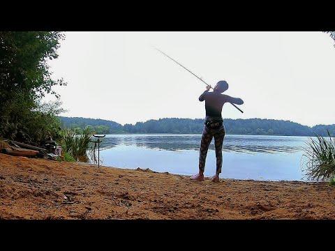 Как я ловлю ФИДЕРОМ на ВОДОХРАНИЛИЩЕ. Рыбалка в Беларуси #208
