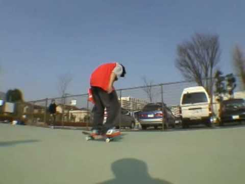 skate board tekitou video アーチ(鬼)