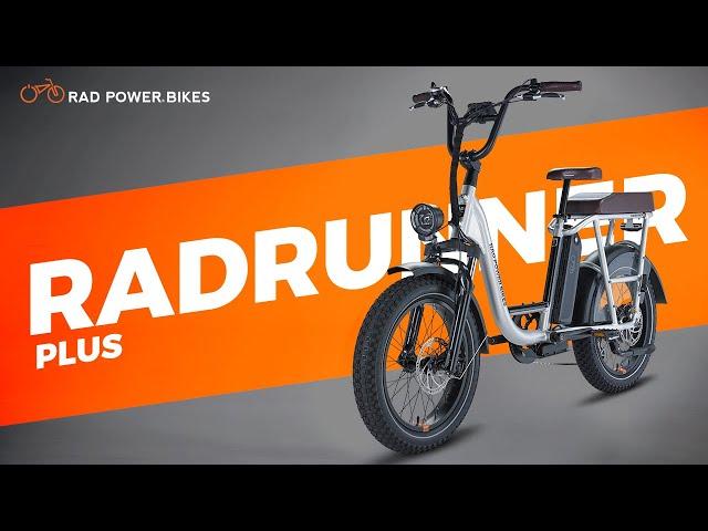 RadRunner Plus Electric Utility Bike | Promotional Debut