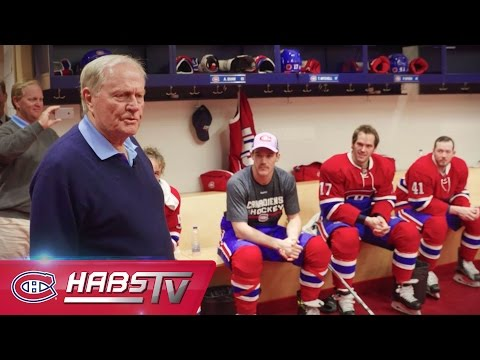 Jack Nicklaus announces starting lineup to Canadiens