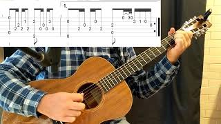 Dark Folk Guitar - Travis Picking With Celtic Progression