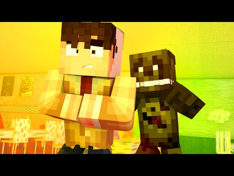 FNAF Sister Location - THE COSTUME THEME! Night 3 | Minecraft Show w/ Samgladiator