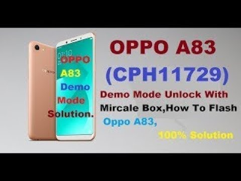 How to Read Firmware oppo A83 /pattern unlock Remove password /demo Remove  100% working
