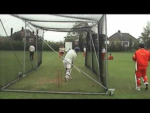 German Cricket Team Practice in Epping Cricket Club England