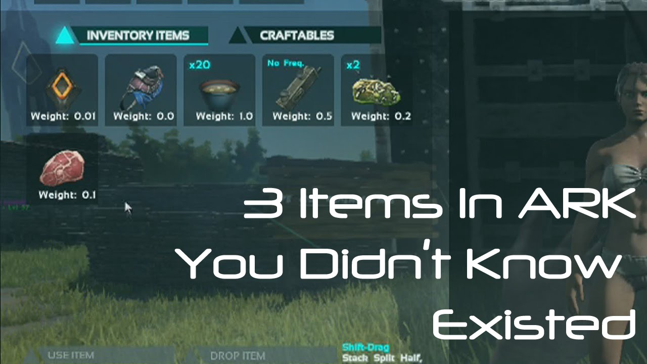 3 items you didnt know about in ark survival evolved youtube malvernweather Images