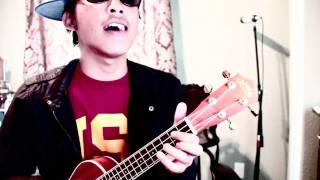 Mike Posner - Bow Chicka Wow Wow Remix (Uke Cover) - Johnny Lo